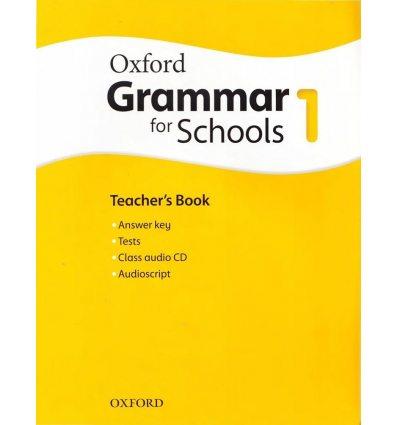 Oxford Grammar for Schools 1: Teacher's Book with Audio CD