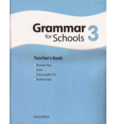 Oxford Grammar for Schools 3: Teacher's Book with Audio CD