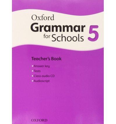 Oxford Grammar for Schools 5: Teacher's Book with Audio CD