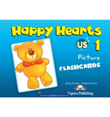 Happy Hearts 1 Picture Flashcards