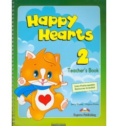 Книга для учителя Happy Hearts 2 Teachers Book ISBN 9781848626539 купить Киев Украина
