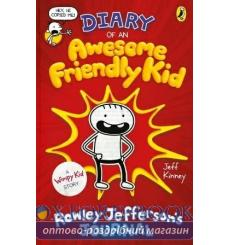 Diary of an Awesome Friendly Kid : Rowley Jeffersons Journal [Hardcover] Kinney, J 9780241405604 купить Киев Украина