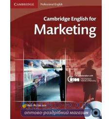 Учебник Cambridge English for Marketing Students Book with Audio CDs (2) ISBN 9780521124607 купить Киев Украина