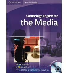 Учебник Cambridge English for Media Students Book with Audio CD ISBN 9780521724579 купить Киев Украина