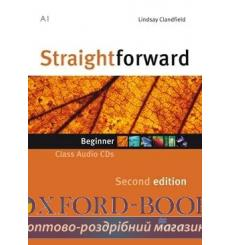 Straightforward Beginner Class CDs 2nd Edition 9780230423022 купить Киев Украина