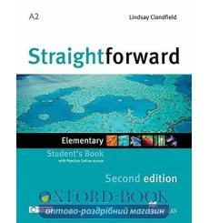 Учебник Straightforward Elementary Students Book with webcode 3rd Edition 9780230424456 купить Киев Украина