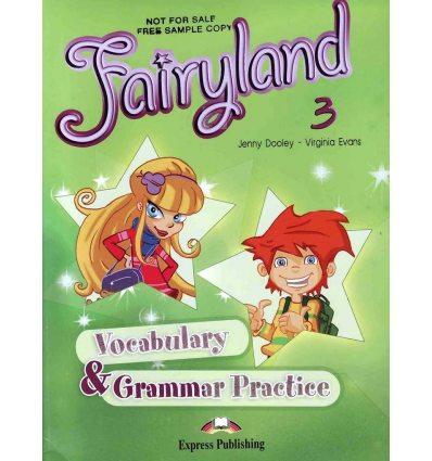 Книга Fairyland 3 Vocabulary & Grammar Practice 9781846793677 купить Киев Украина