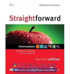 Учебник Straightforward Intermediate Students Book with webcode 3rd Edition 9780230424470 купить Киев Украина