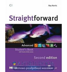 Учебник Straightforward Advanced Students Book with webcode 3rd Edition 9780230424494 купить Киев Украина