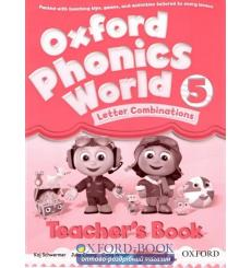 Книга для учителя Oxford Phonics World 5 Teachers Book ISBN 9780194596329 купить Киев Украина