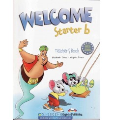 Книга для учителя Welcome Starter b Teachers Book (With Posters) 9781845585044 купить Киев Украина