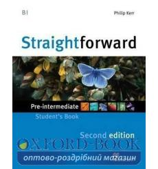 Учебник Straightforward Pre-Intermediate Students Book 3rd Edition 9780230414006 купить Киев Украина