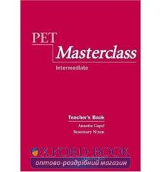 Книга для учителя PET Masterclass Teachers Book ISBN 9780194514057 купить Киев Украина