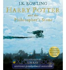 Книга Harry Potter 1 Philosophers Stone Illustrated Edition [Paperback] Rowling, J ISBN 9781526602381 купить Киев Украина