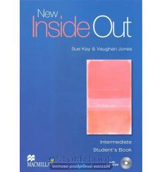 Учебник New Inside Out Intermediate Students Book with CD-ROM ISBN 9781405099677 купить Киев Украина