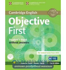 Objective First 4th Edition Students Pack (SB without key with CD-ROM,WB without key with Audio CD) ISBN 9781107628564 купить...