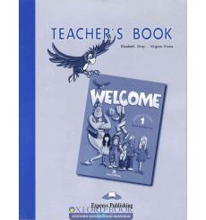 Книга для учителя Welcome 1 Teachers Book 9781903128022 купить Киев Украина