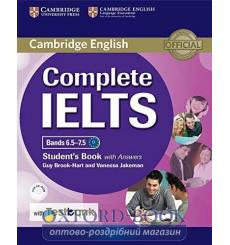 Учебник Complete IELTS Bands 6.5-7.5 Students Book with key with CD-ROM with Testbank ISBN 9781316602041 купить Киев Украина