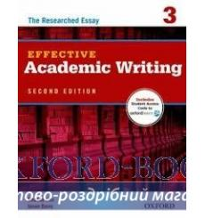 Книга Effective Academic Writing 3 The Researched Essay with Student Online Acces Code 2nd Edition 9780194323482 купить Киев ...