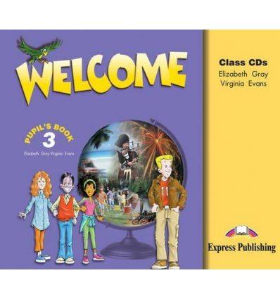 Welcome 3 Class CD (SET 3)