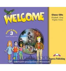 Welcome 3 Class CD (SET 3)