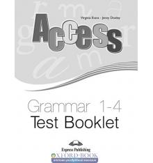 Книга Acces 1-4 Grammar Test Booklet ISBN 9781848622869