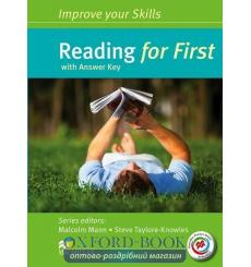 Книга Improve your Skills: Reading for First with key and MPO ISBN 9780230460935 купить Киев Украина