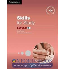 Учебник Skills for Study 3 Students Book with Downloadable Audio 9781107686144 купить Киев Украина