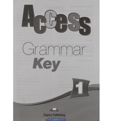 Access 1 Grammar Key