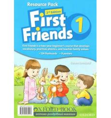 Книга First Friends 1 Teachers Resource Pack 2nd Edition 9780194432443 купить Киев Украина