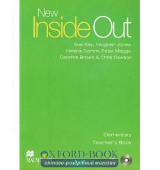 Книга для учителя New Inside Out Elementary Teachers Book with Test CD ISBN 9780230020955 купить Киев Украина