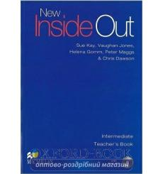 Книга для учителя New Inside Out Intermediate Teachers Book with Test CD ISBN 9780230020979 купить Киев Украина