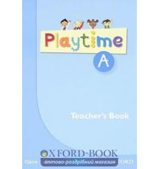 Книга для учителя Playtime A Teachers Book ISBN 9780194046602 купить Киев Украина