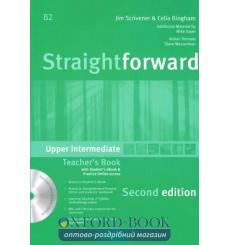 Straightforward Upper-Intermediate Teachers Book with eBook Pack 3rd Edition 9781786327680 купить Киев Украина