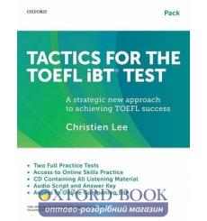 Учебник Tactics for the TOEFL iBT Test Pack (Students Book + Audio CDs + Online Practice + key) ISBN 9780199020188 купить Кие...