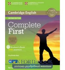Учебник Complete First Students Book with key with CD-ROM with Class CDs  3rd Edition 9781107698352 купить Киев Украина