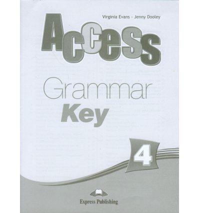 Access 4 Grammar Key