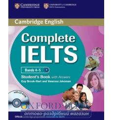 Учебник Complete IELTS Bands 4-5 Students Book with key with CD-ROM with Audio CDs ISBN 9780521179607 купить Киев Украина