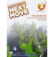 Macmillan Next Move 2 Class CDs