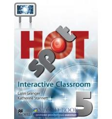 Hot Spot 5 Interactive Classroom DVD-ROM ISBN 9780230419452 купить Киев Украина