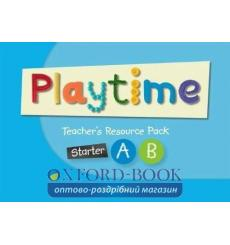 Книга Playtime Starter A and B Teachers Resource Pack 9780194046794 купить Киев Украина