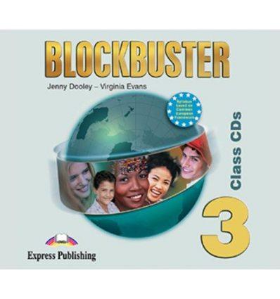 Blockbuster 3 Class CDs (set 4)