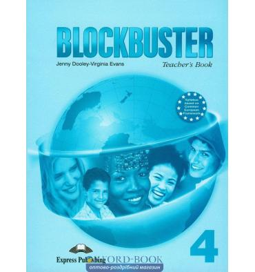 Blockbuster 4 Teacher's Book (with posters)