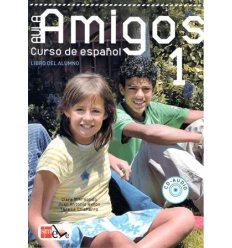 Підручник Aula Amigos 1 Libro del alumno con Portfolio el alumno y CD-Audio ISBN 9788467521252