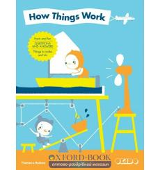 Книга с окошками How Things Work: Facts and Fun Questions and Answers Things to Make and Do ISBN 9780500650448 купить Киев Ук...