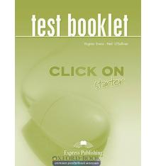 Книга Click On Starter Test Booklet ISBN 9781845581695