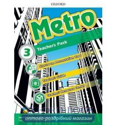 Книга для учителя Metro 3 Teachers book 9780194016933 купить Киев Украина