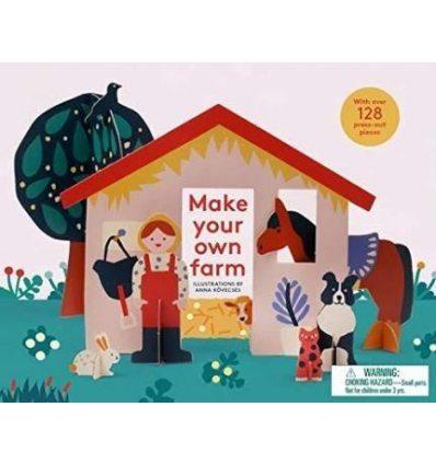 Збірна модель Make Your Own Farm Anna Kovecses ISBN 9781786271914