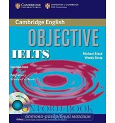 Книга Objective IELTS Intermediate Students Book with answers with CD-ROM Capel, A. 9780521608855 купить Киев Украина