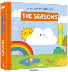 Книга с движущимися элементами My First Animated Board Book: The Seasons Marion Cocklico ISBN 9782733859049 купить Киев Украина